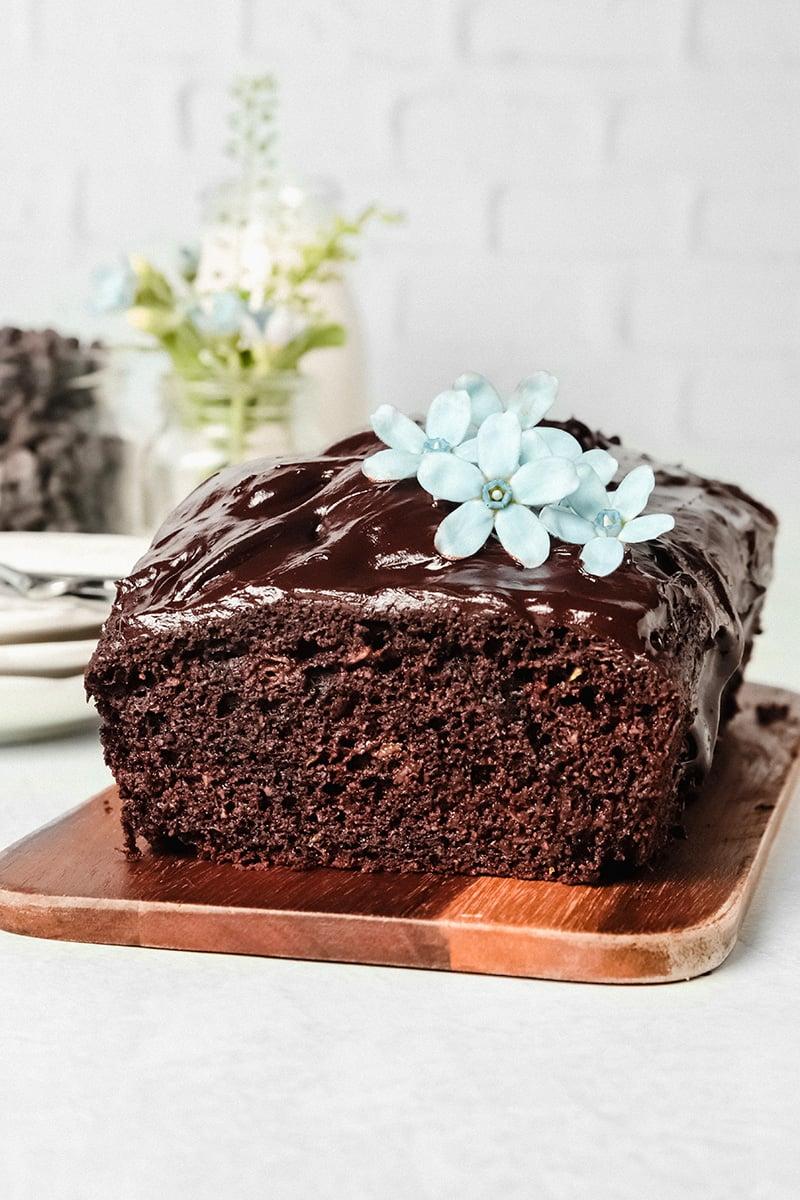 Chocolate Zucchini Cake Gluten-Free & Paleo