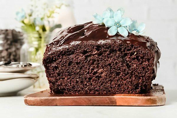Healthy Chocolate Zucchini Cake Paleo Gluten-Free