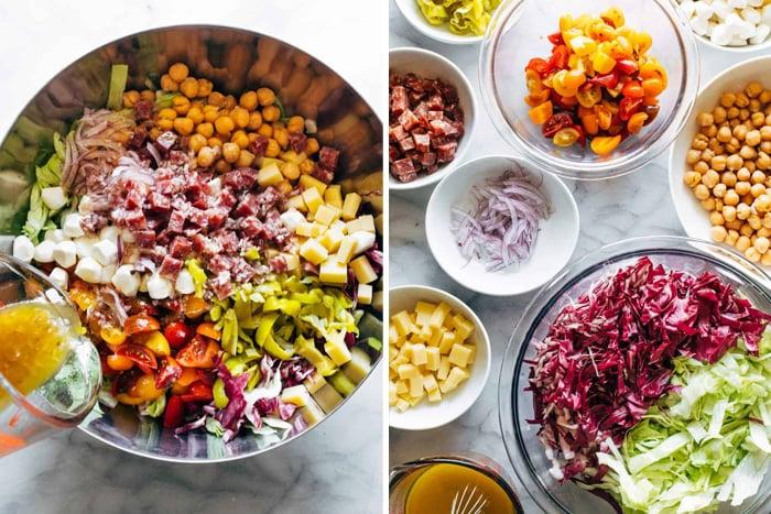 LA Chop salad