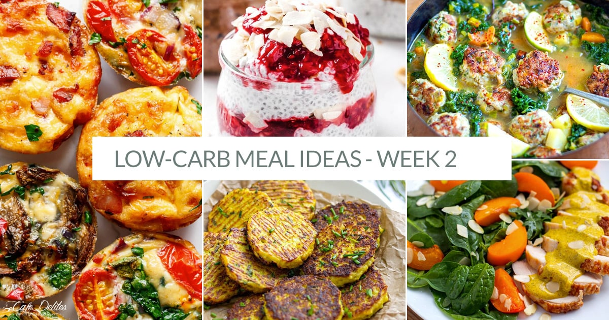Low-Carb Meals For Week 2 Of The Challenge
