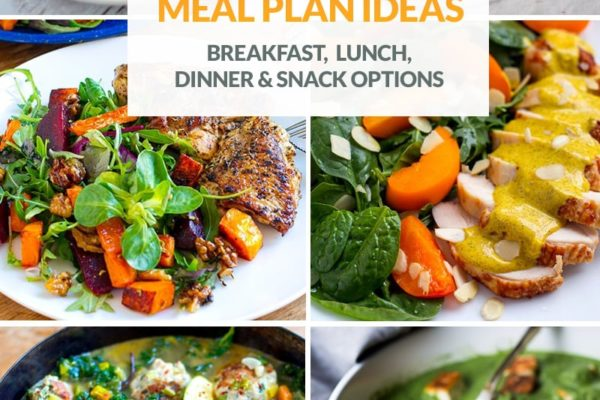Meal Ideas For Low-Carb Menu Planning (Version 2)