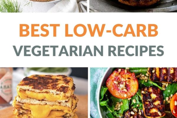 Best Low-Carb Vegetarian Recipes That Are Healthy & Delicious